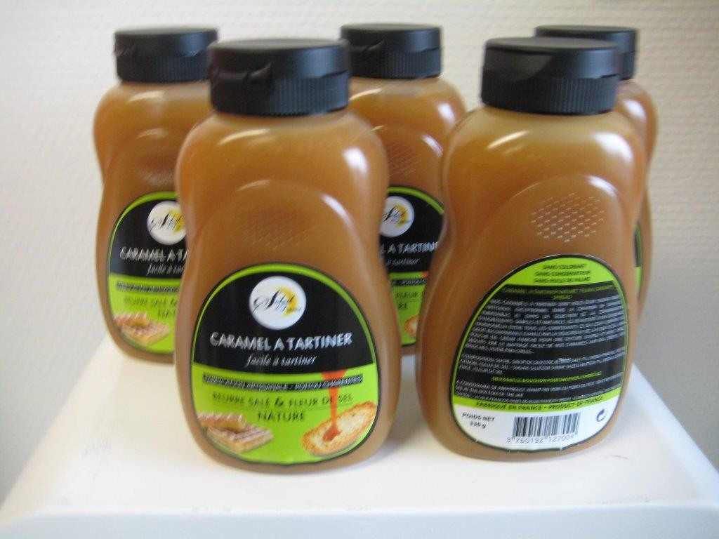 caramel à tartiner nature squeezer